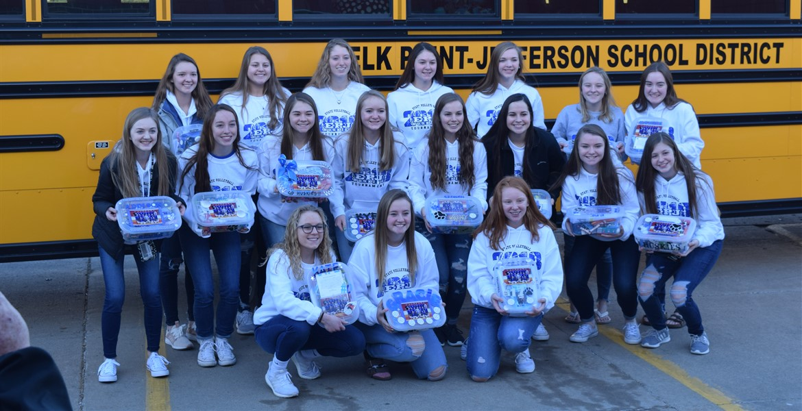 State VB Send Off