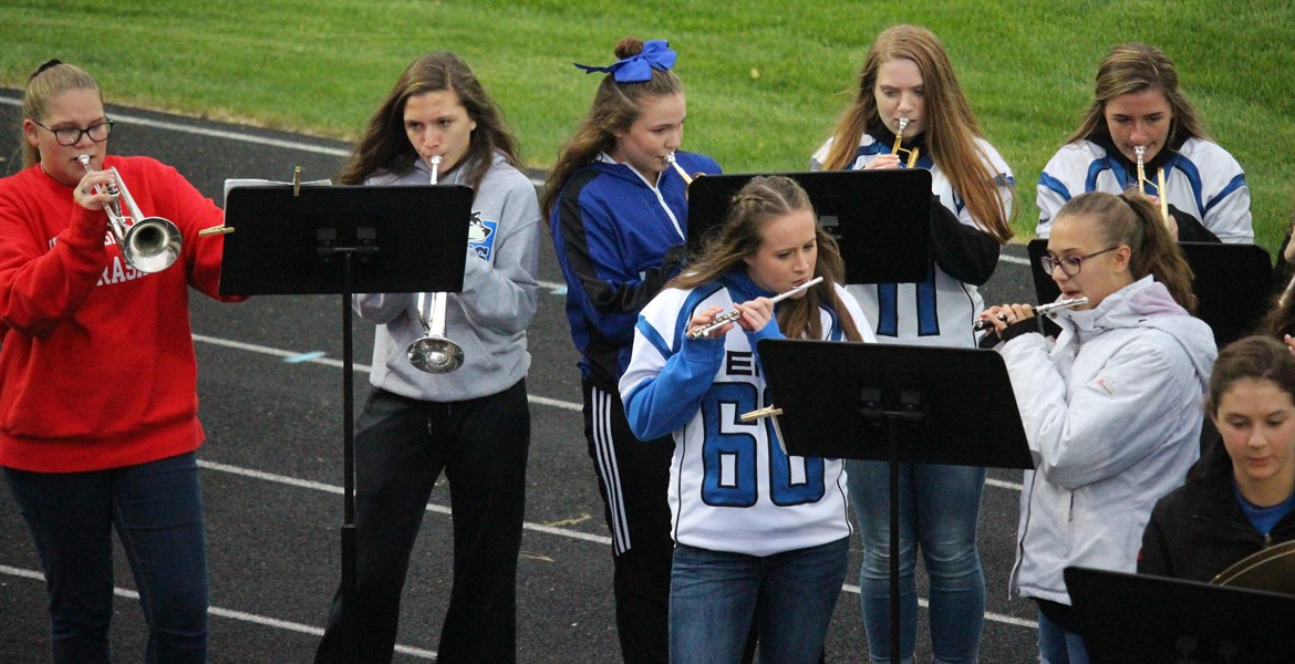 Pep Band @ FB vs. Sioux Valley